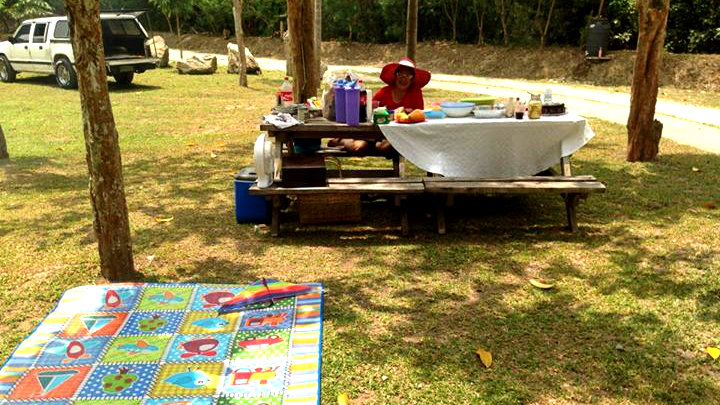 Picnic at Bantug Lake Ranch