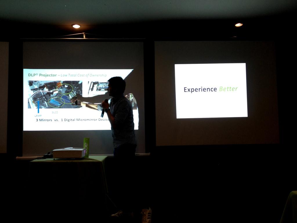 Presentation of Acer Projectors