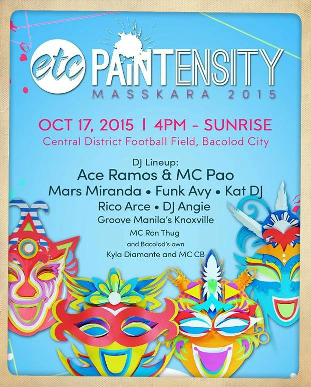 Free tickets to Paintensity