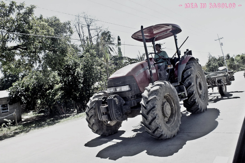 A tractor at Negros Occidental