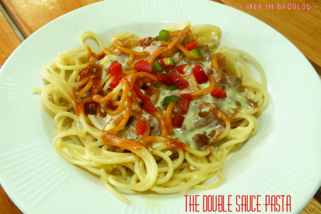 Ginger Lime Bacolod Menu - Double Sauce Pasta