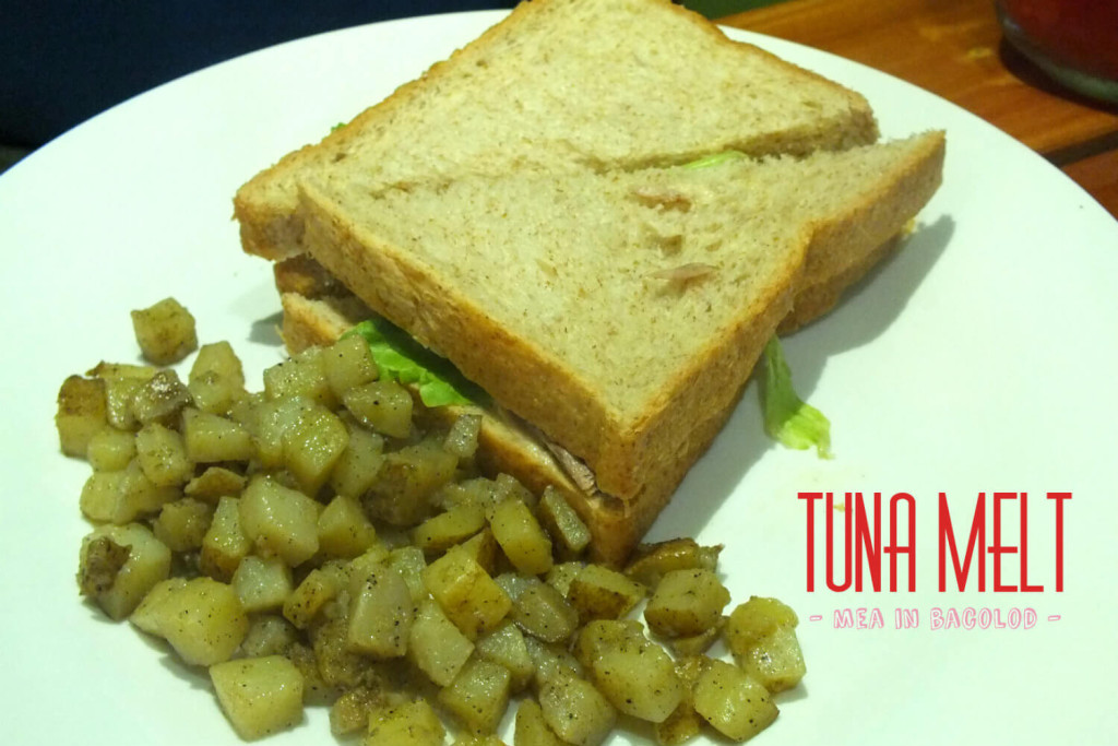 Ginger Lime Bacolod Menu - Tuna Melt
