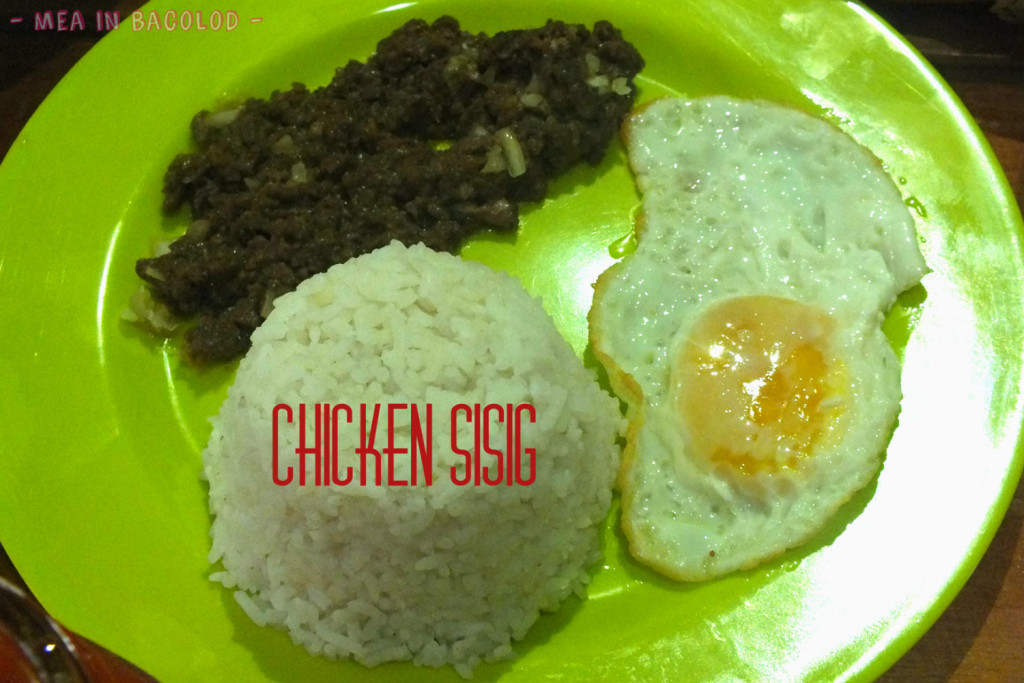 Ginger Lime Menu Bacolod - Chicken Sisig