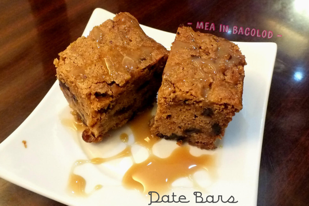 Kabbara Cafe Bacolod - Date Bars