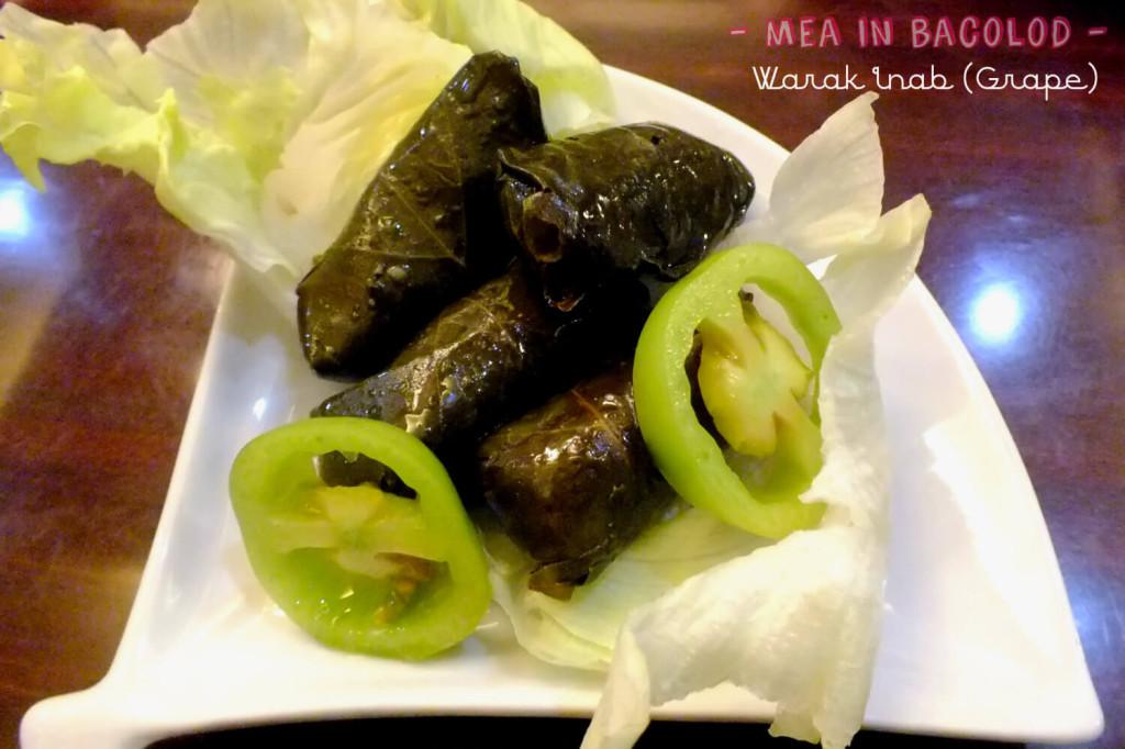 Kabbara Cafe Bacolod - Warak Inab Grape 4pcs