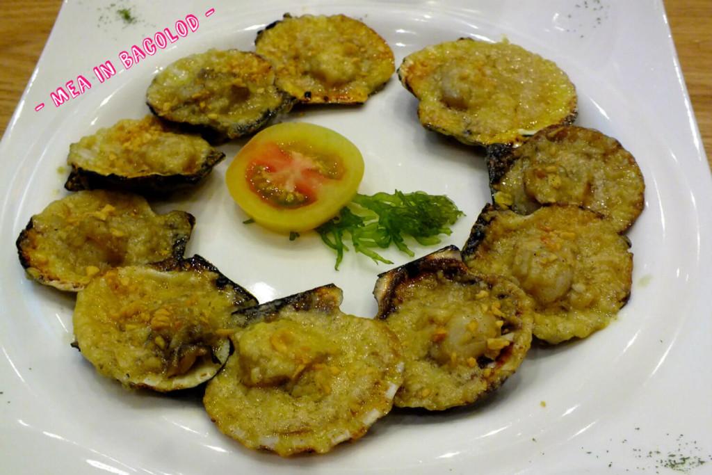 Kuya J grilled scallops