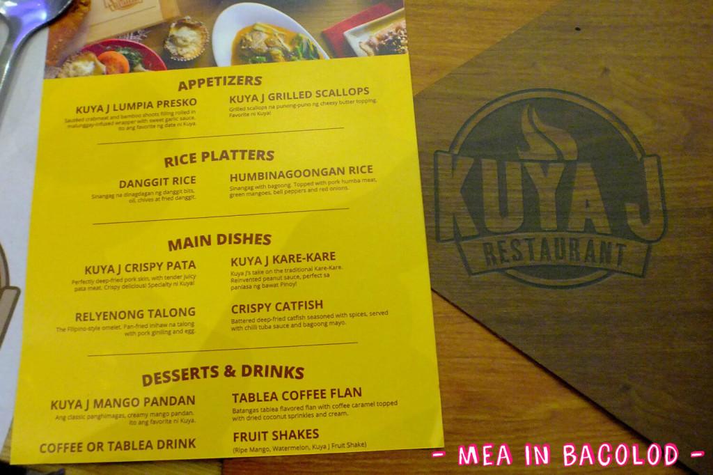 Serving at Kuya J
