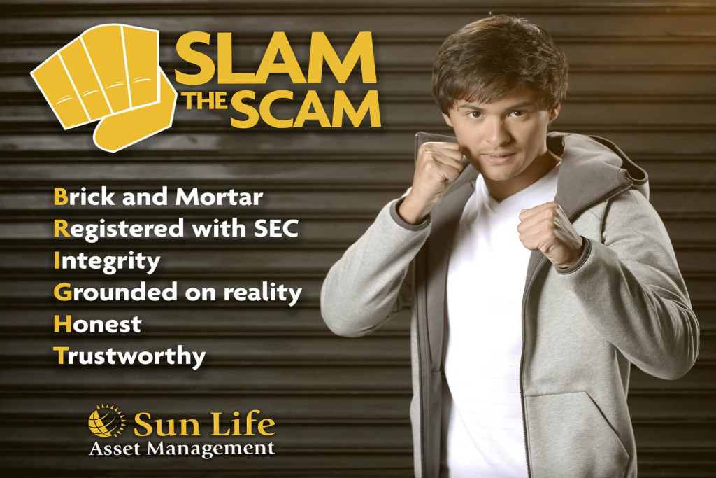 Slam the Scam Campaign with Matteo Guidecelli