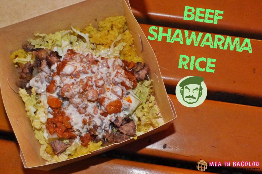 Beef Shawarma Rice Saddams Shawarma