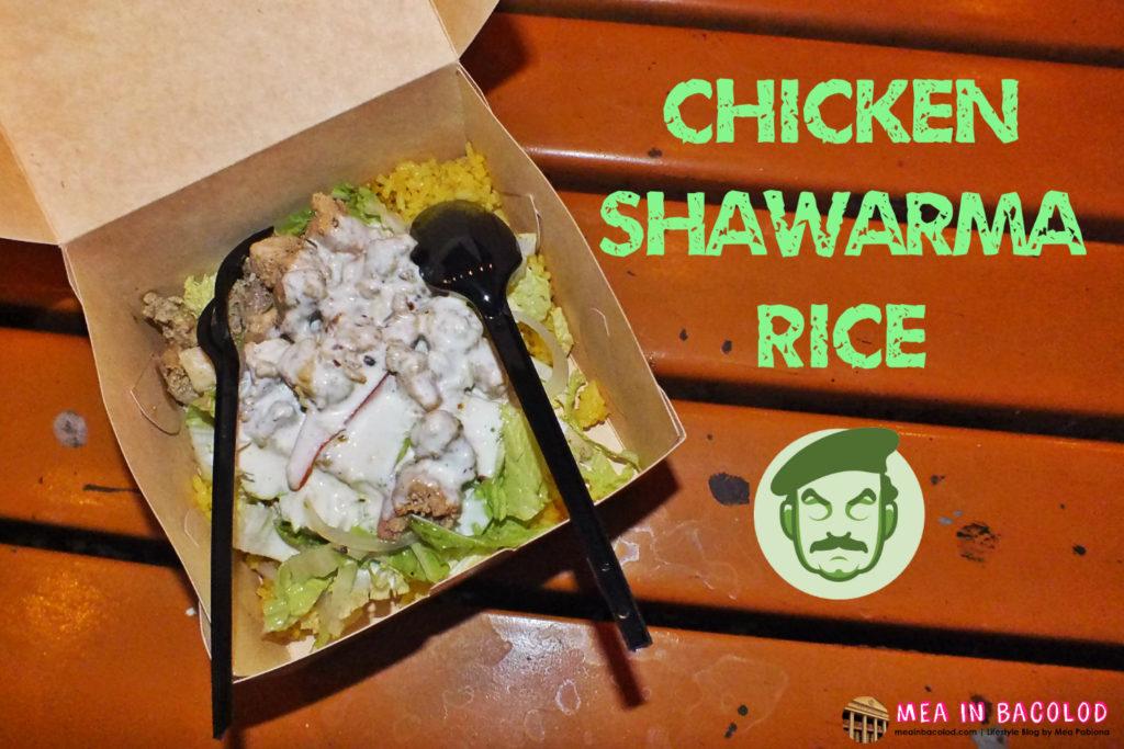 Chicken Shawarma Rice Saddam's Shawarma