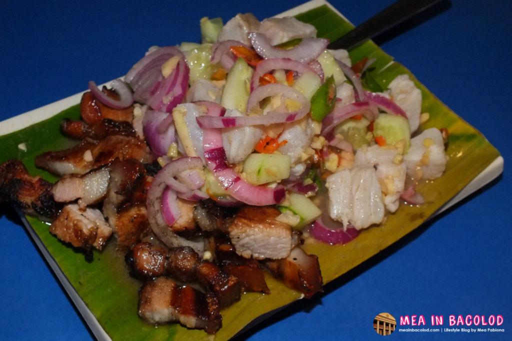 Kubo sa Lawn Porkchop and Kinilaw