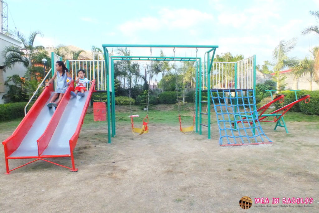 New Playground at the New Government Center in Bacolod