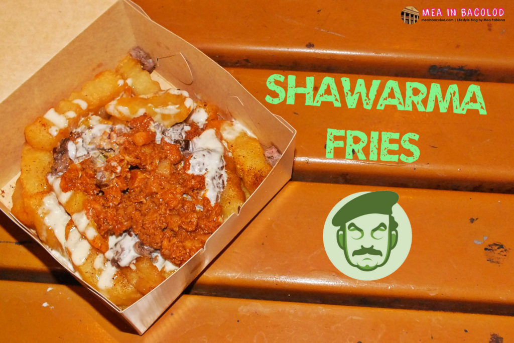 Shawarma Fries Saddams Shawarma
