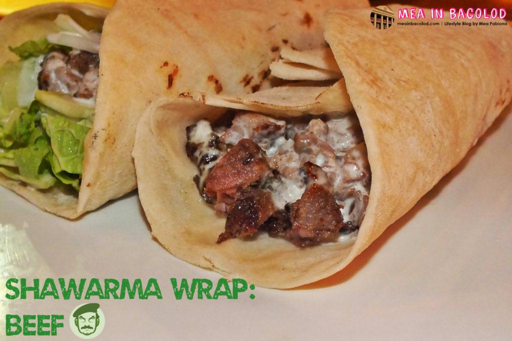 Shawarma Wrap - Beef - Saddams Shawarma