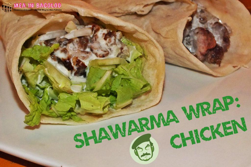 Shawarma Wrap - Chicken - Saddams Shawarma