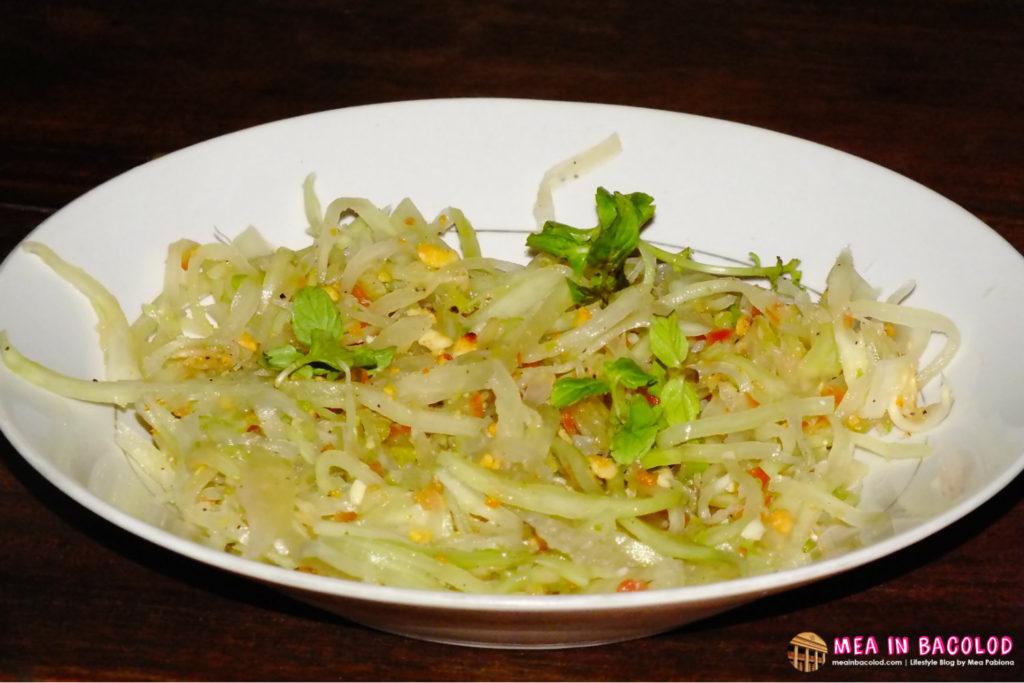 Mekong's Papaya Salad - Vietnamese Street Food Stand Bacolod
