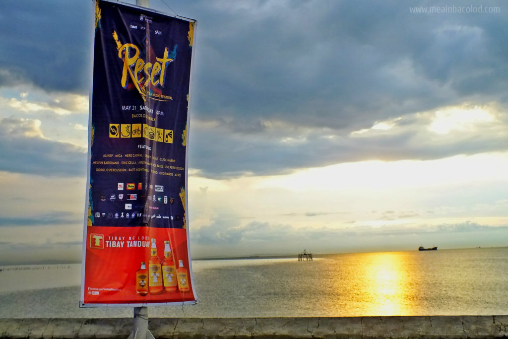 RESET Bacolod Summer Festival - Cover