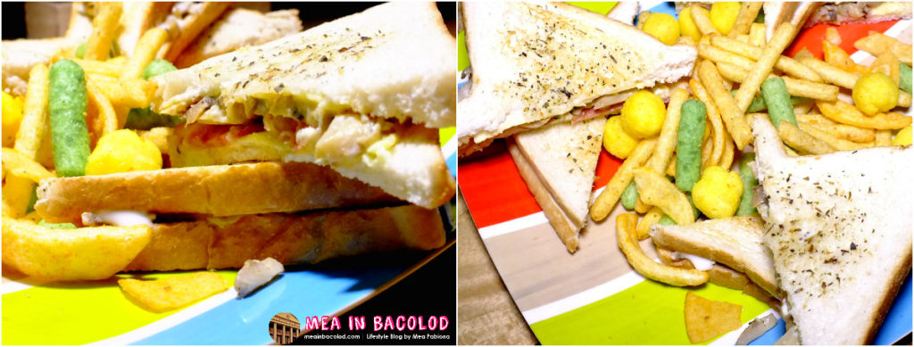 Menu - Bacon Mushroom Melt