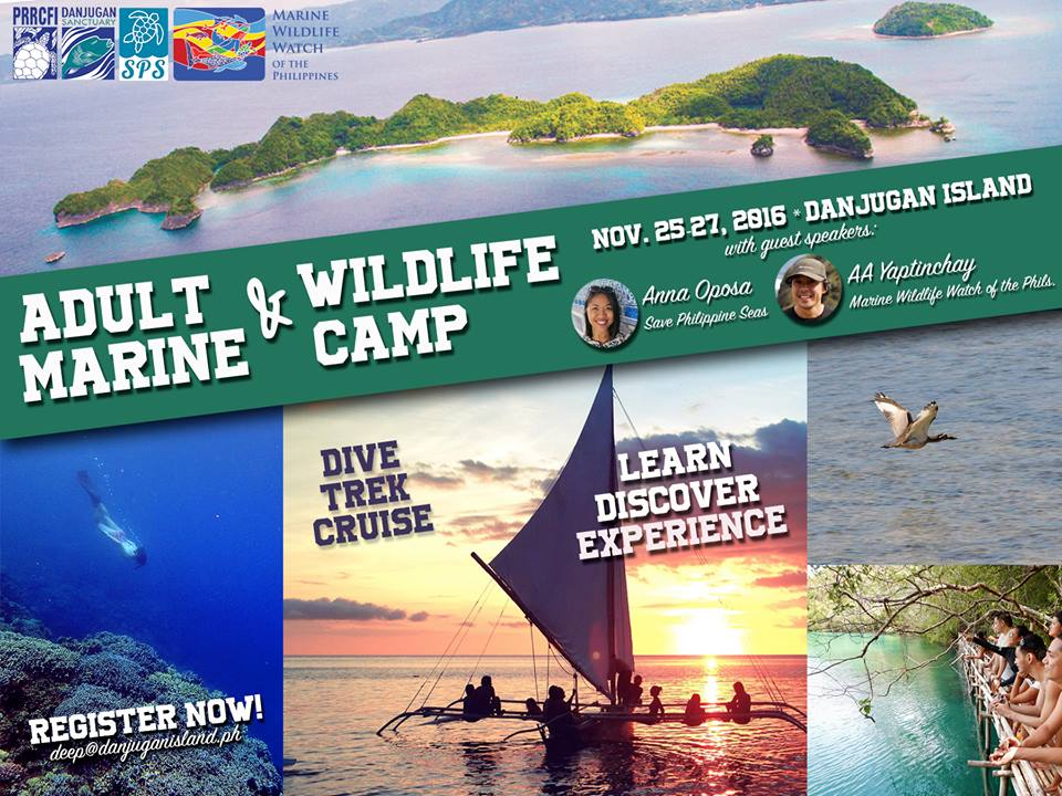 Adult Marine And Wildlife Camp at Danjugan Island