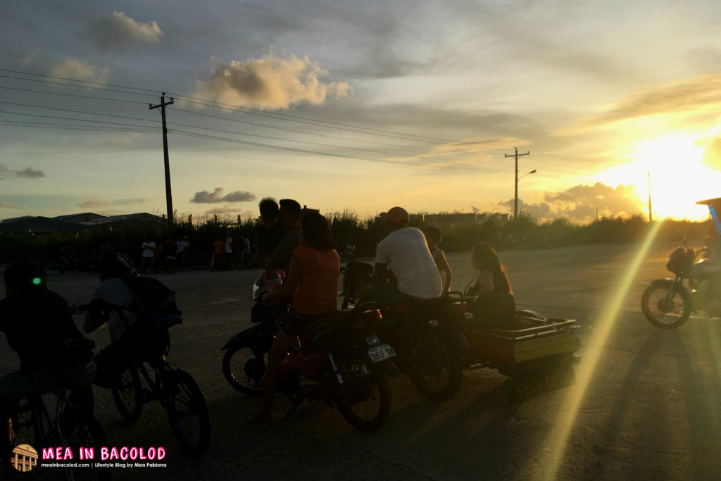 Sunset At Bredco Plus A Motorcylce Race | Mea in Bacolod