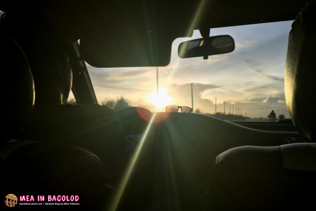 Watch The Sunset Today With Family | Mea in Bacolod
