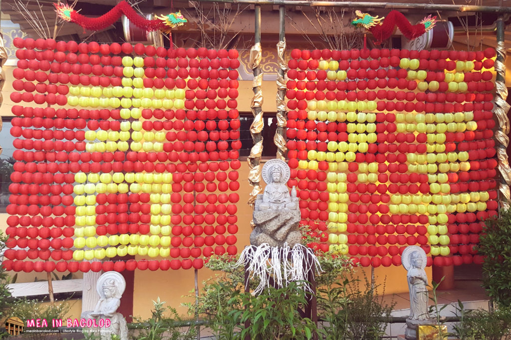 Yuan Thong Temple Bacolod - Display and Decorations